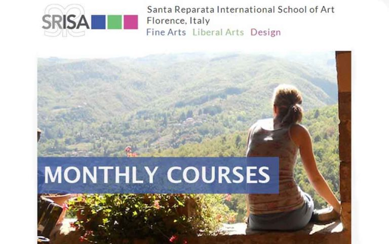 Budget Study Abroad in Florence. Monthly Art Courses in Florence at SRISA – 750 Euros